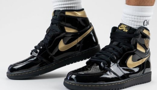 "【Nike】Air Jordan 1 Retro High OG ""Black Metallic Gold""が2020年11月30日に発売予定"