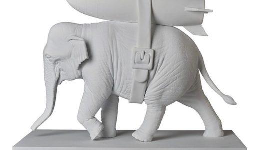 【MEDICOM TOY Sync. × BRANDALISM】BANKSY Elephant with Bombが国内2020年6月に発売予定