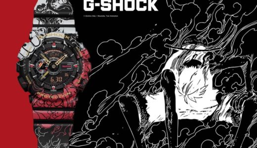 【G-SHOCK × ONE PIECE】コラボウォッチ〈GA-110JOP〉が2月6日に再販予定