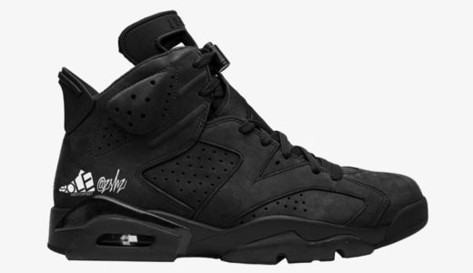 """【Nike】Wmns Air Jordan 6 Retro SD """"Triple Black""""が2020年10月に発売予定"""