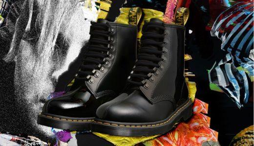 【Dr.Martens × PLEASURES】60周年記念コラボ第6弾〈1460〉 8ホールブーツが6月27日に発売予定