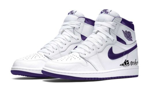"【Nike】Wmns Air Jordan 1 High OG ""Court Purple""が2021年4月に発売予定"