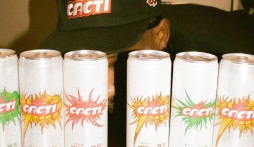 "Travis Scottがアルコール飲料ブランド""CACTI""を始動。海外2021年3月15日より発売予定"