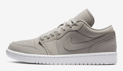 "【Nike】Air Jordan 1 Low ""Grey Fog""が2020年近日発売予定 [DC0774-002]"