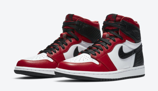 "【Nike】Wmns Air Jordan 1 Retro High OG ""Satin Snake Red""が国内8月6日に発売予定"