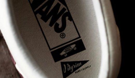 【VANS × Pilgrim Surf+Supply】〈CLASSIC SLIP-ON〉が7月25日に発売予定