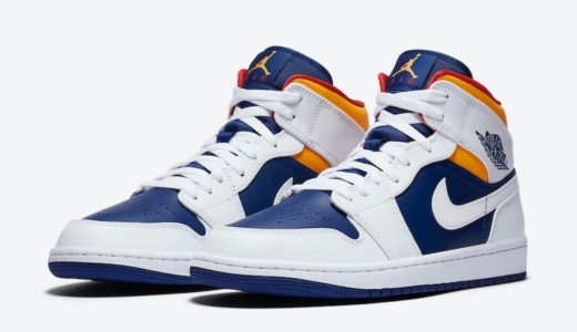 "【Nike】Air Jordan 1 Mid ""Deep Royal Blue""が2020年近日発売予定"