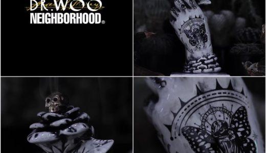 【NEIGHBORHOOD®︎ × Dr.Woo】第2弾コラボアイテムが2020年7月23日に発売予定