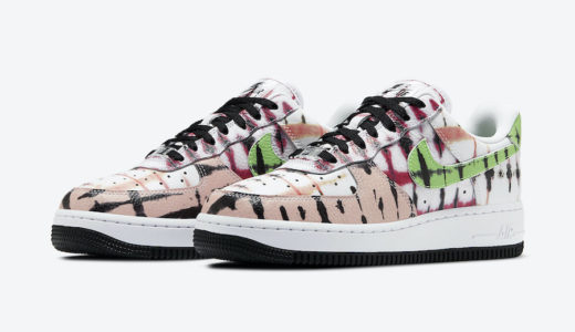 "【Nike】Wmns Air Force 1 Low ""Black Tie Dye""が7月1日に発売予定"