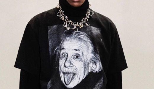 【sacai × Albert Einstein】アインシュタインTシャツ&フーディーが7月15日/7月17日に発売予定