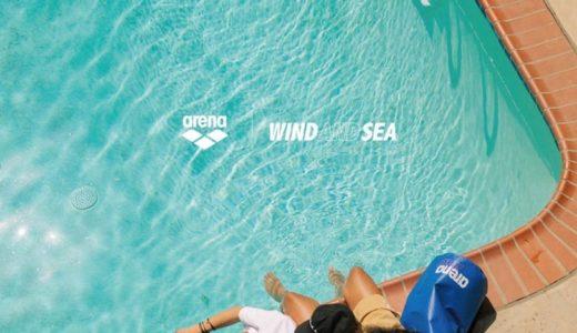 【arena × WIND AND SEA】2020年最新コラボコレクションが7月18日に発売予定