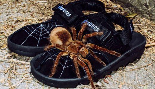 【Reebok × PLEASURES】蜘蛛の巣柄デザインのBeatnikが国内9月12日に発売予定