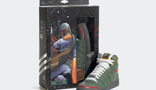 "【Star Wars × adidas】Top Ten Hi ""Boba Fett""が国内9月25日に発売予定"