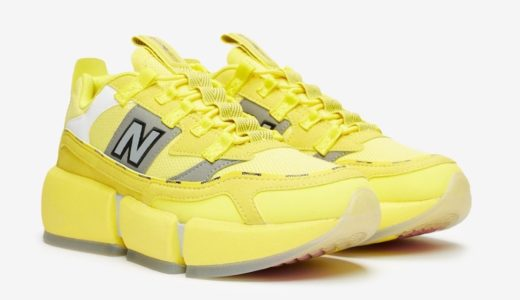 "【Jaden Smith × New Balance】第3弾となる新色 Vision Racer ""Bright Yellow""が2020年近日発売予定"