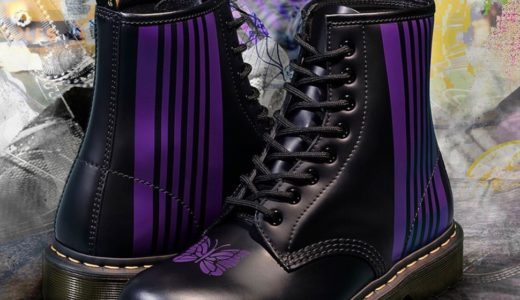 【Dr.Martens × NEEDLES】60周年記念コラボ第8弾〈1460〉 8ホールブーツが8月22日に発売予定