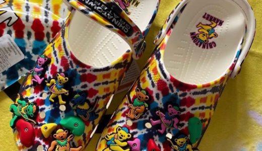 【Crocs × China Town Market × Grateful Dead】コラボコレクションが8月14日に発売予定