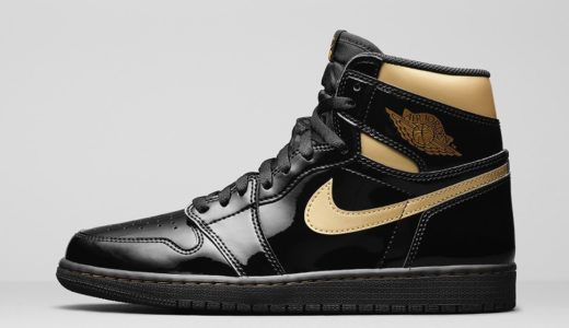 "【Nike】Air Jordan 1 Retro High OG ""Black Metallic Gold""が2020年11月30日に発売予定"
