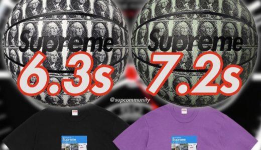 【Supreme】2020FW WEEK1 EU ヨーロッパでの完売タイムランキングが公開