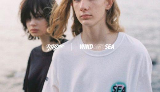 【MYne × WIND AND SEA】2020年最新コラボコレクションが8月29日に発売予定
