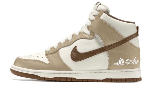 "【Nike】Dunk High Retro Premium ""Light Chocolate""が2021年8月に発売予定"