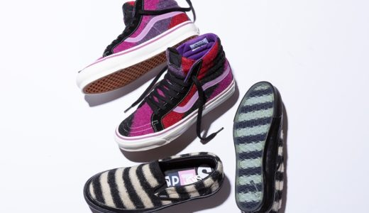 "【Concepts × Vans Vault】Sk8-Hi & Slip-On ""Mohair"" Packが9月24日に発売予定"