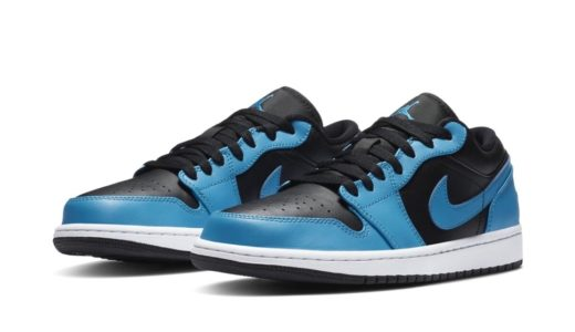 "【Nike】Air Jordan 1 Low ""Black/Laser Blue""が2020年秋に発売予定"