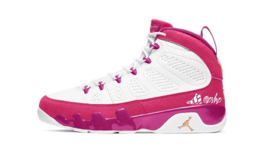 "【Nike】Wmns Air Jordan 9 Retro ""Desert Berry""が2021年初旬に発売予定"