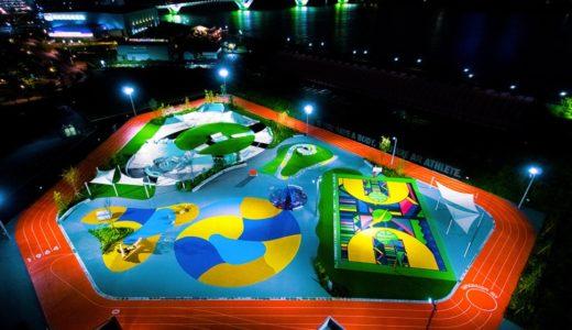 Nikeがデザインを手掛けた「TOKYO SPORT PLAYGROUND SPORT x ART」が10月10日にオープン予定