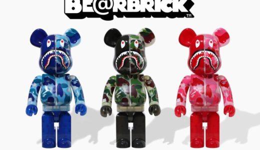 【BAPE®︎ × BE@RBRICK】新作ベアブリックが2020年9月26日に発売予定