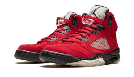 "【Nike】Air Jordan 5 Retro ""Raging Bull""が2021年4月10日に復刻発売予定か"