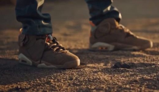 "【Travis Scott × Nike】Air Jordan 6 Retro SP ""British Khaki""が2021年春に発売予定"
