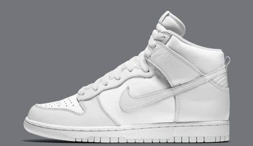 "【Nike】Dunk High ""Pure Platinum""が2020年後半に発売予定"