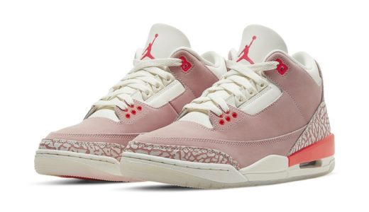 "【Nike】Wmns Air Jordan 3 Retro ""Rust Pink""が2021年4月15日に発売予定"