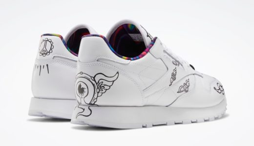 "【Reebok】Classic Leather ""Peace Train""が2020年10月15日に発売予定"