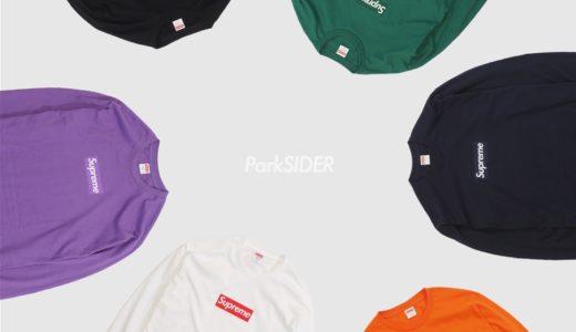 【Supreme】ParkSIDERがBox Logo L/S Teeの抽選販売受付を10月18日より開始