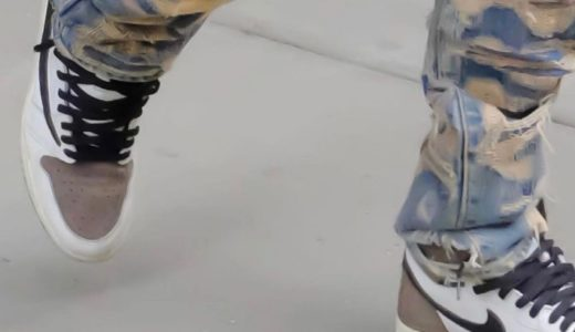 "【Travis Scott × Nike】反転カラーのAir Jordan 1 High OG TS SP ""Reverse Mocha""がリーク"