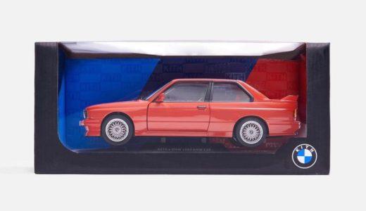 【Kith × BMW】〈E30 M3〉18分の1 ダイキャストカーが国内10月19日に発売予定