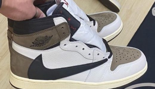 【Travis Scott × Nike】反転カラーのAir Jordan 1 High OG TS SPがリーク