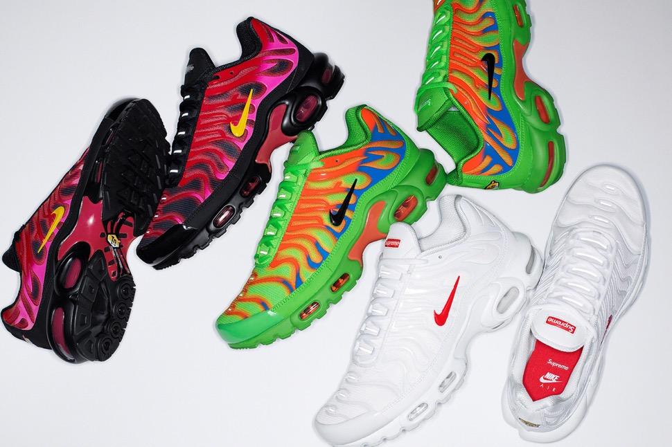 Supreme × Nike】Air Max Plus TNが国内