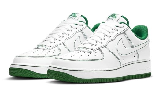 "【Nike】Air Force 1 Low ""White/Pine Green""が発売予定"