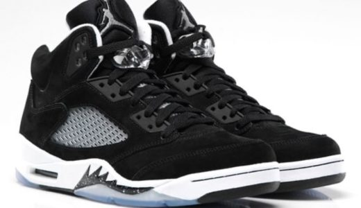 """【Nike】Air Jordan 5 Retro """"Oreo""""が2021年7月24日に復刻発売予定"""