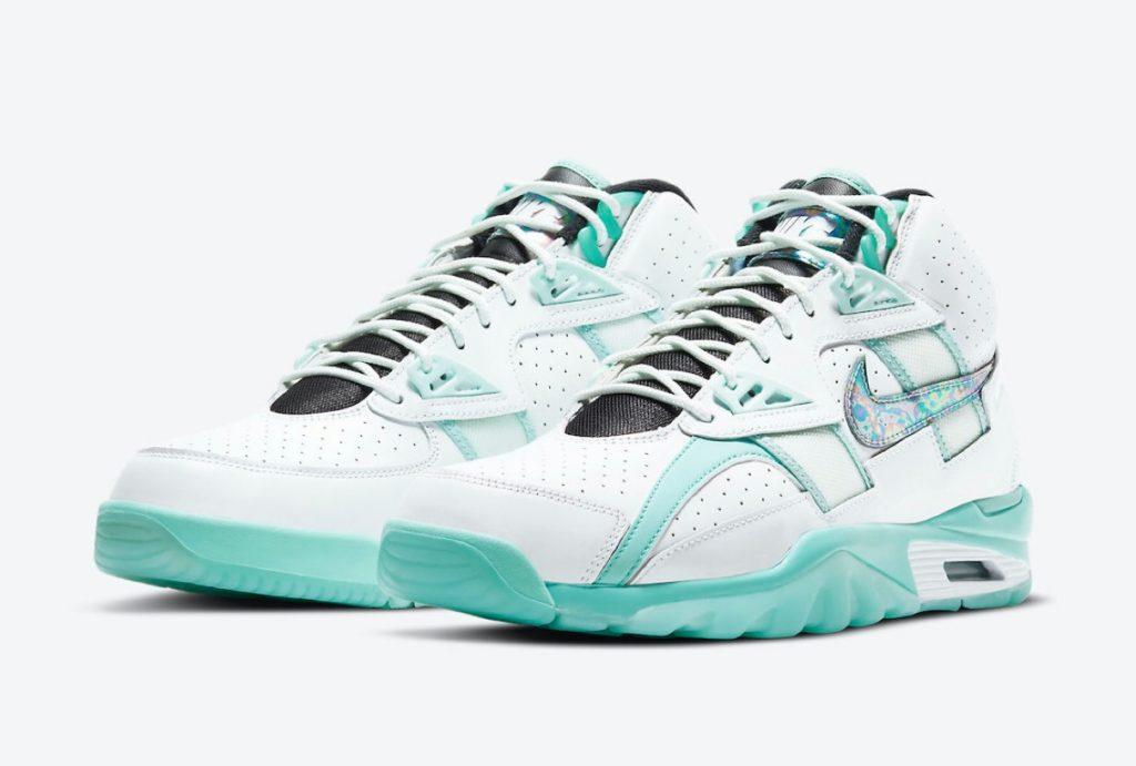 "Nike】Air Trainer SC High ""Abalone""が"