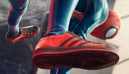 "【MARVEL × adidas × PlayStation】Superstar ""Spider-Man: Miles Morales""が国内11月15日に発売予定"