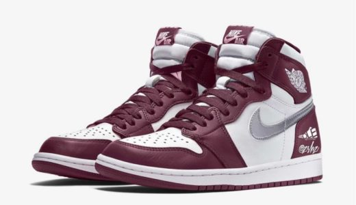 "【Nike】Air Jordan 1 Retro High OG ""Bordeaux""が2021年秋に発売予定"