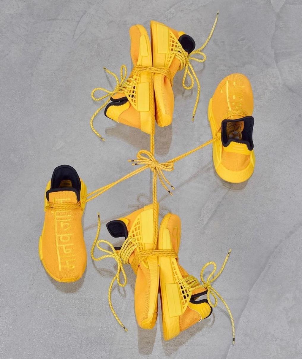 Pharrell Williams × adidas】Hu NMD