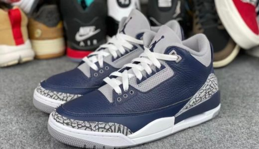 "【Nike】Air Jordan 3 Retro ""Midnight Navy""が2021年1月15日に発売予定"