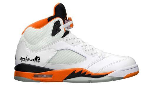 """【Nike】Air Jordan 5 Retro """"Total Orange""""が2021年9月25日に発売予定"""