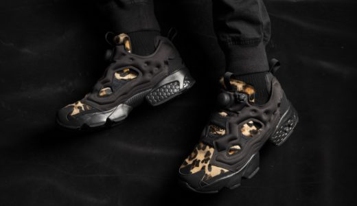 "【Reebok】INSTAPUMP FURY ""ANIMAL PACK""が国内11月20日に発売予定"