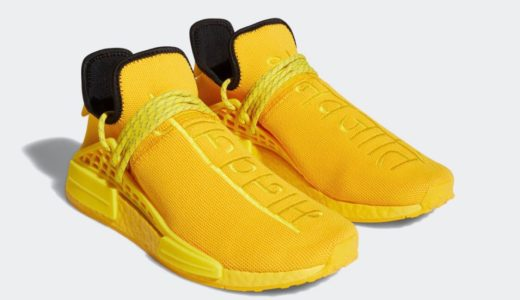 "【Pharrell Williams × adidas】Hu NMD ""Yellow""が国内11月7日に発売予定"