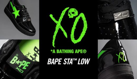 【A BATHING APE®︎ × The Weeknd XO】BAPE STA™が国内12月12日に発売予定